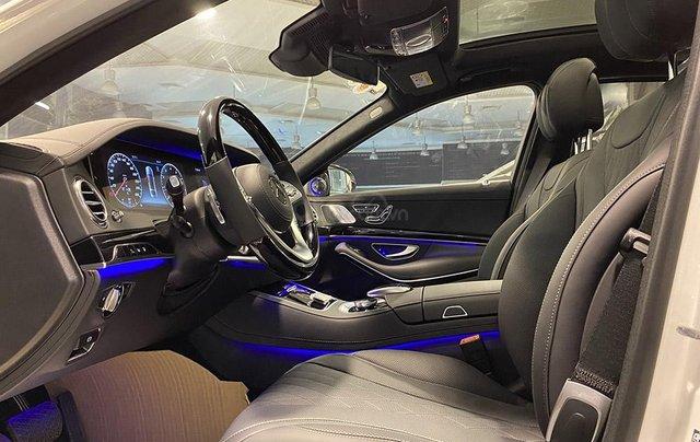 Bán xe Mercedes S450 Luxury sản xuất 2020, màu trắng, đi 2000km, mới 99%, giá cực rẻ5