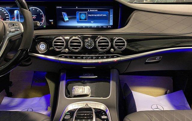 Bán xe Mercedes S450 Luxury sản xuất 2020, màu trắng, đi 2000km, mới 99%, giá cực rẻ8