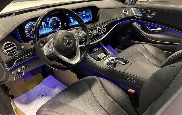 Bán xe Mercedes S450 Luxury sản xuất 2020, màu trắng, đi 2000km, mới 99%, giá cực rẻ6