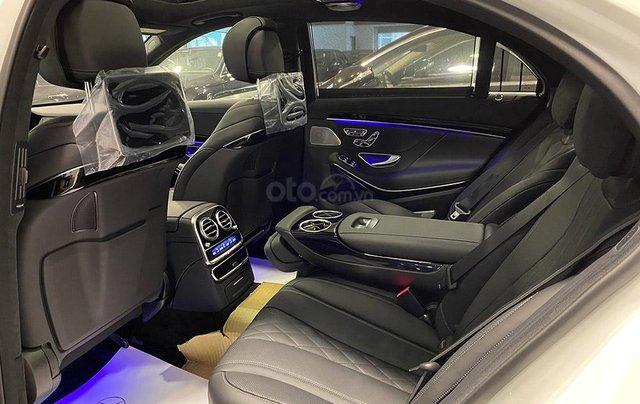 Bán xe Mercedes S450 Luxury sản xuất 2020, màu trắng, đi 2000km, mới 99%, giá cực rẻ11