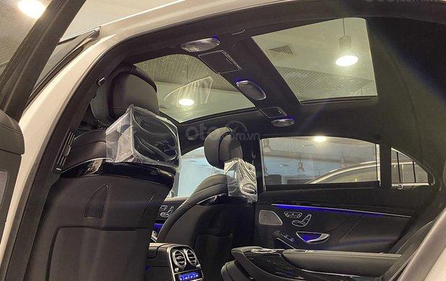 Bán xe Mercedes S450 Luxury sản xuất 2020, màu trắng, đi 2000km, mới 99%, giá cực rẻ10