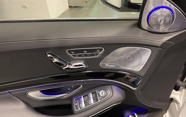 Bán xe Mercedes S450 Luxury sản xuất 2020, màu trắng, đi 2000km, mới 99%, giá cực rẻ14
