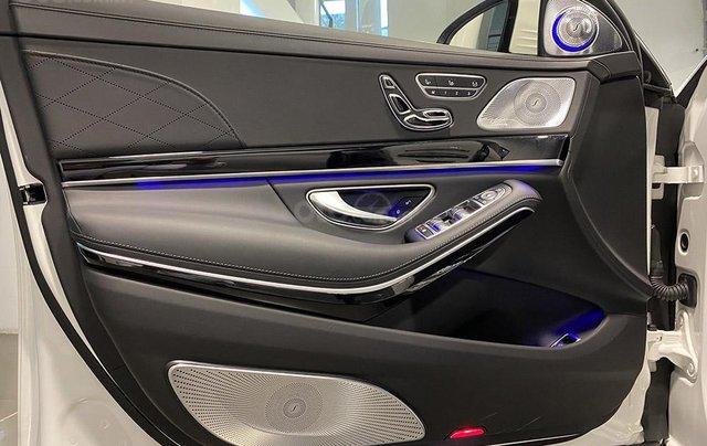 Bán xe Mercedes S450 Luxury sản xuất 2020, màu trắng, đi 2000km, mới 99%, giá cực rẻ13