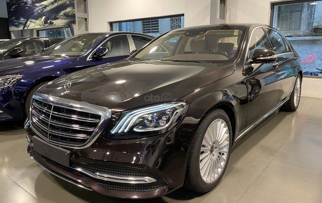 Bán xe Mercedes-Benz S450L sản xuất 2020, màu đen, chạy 3000km, mới 99%, giá cực rẻ0