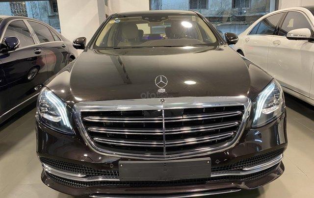 Bán xe Mercedes-Benz S450L sản xuất 2020, màu đen, chạy 3000km, mới 99%, giá cực rẻ1