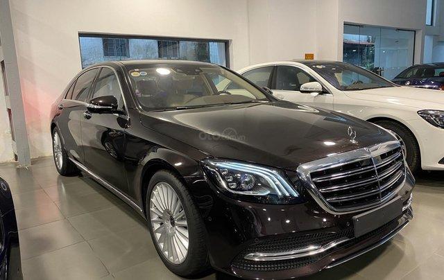 Bán xe Mercedes-Benz S450L sản xuất 2020, màu đen, chạy 3000km, mới 99%, giá cực rẻ2