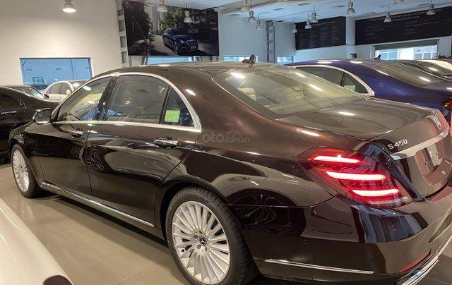 Bán xe Mercedes-Benz S450L sản xuất 2020, màu đen, chạy 3000km, mới 99%, giá cực rẻ3