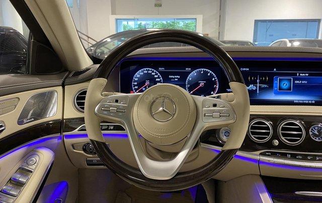 Bán xe Mercedes-Benz S450L sản xuất 2020, màu đen, chạy 3000km, mới 99%, giá cực rẻ6
