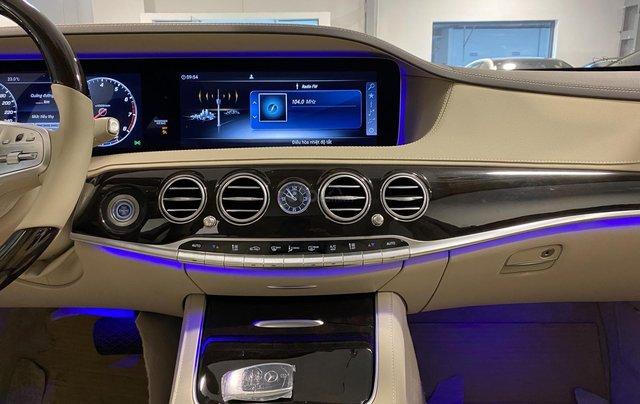 Bán xe Mercedes-Benz S450L sản xuất 2020, màu đen, chạy 3000km, mới 99%, giá cực rẻ7