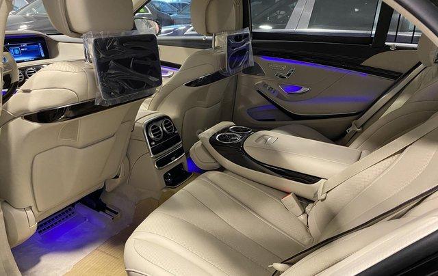 Bán xe Mercedes-Benz S450L sản xuất 2020, màu đen, chạy 3000km, mới 99%, giá cực rẻ9