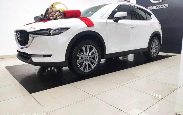 Bán xe Mazda CX 5 2020, màu trắng, tặng quà khủng1