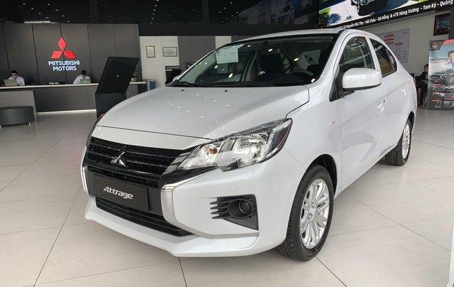 Mitsubishi Attrage 2020 - Giảm ngay 30tr tiền mặt +50% thuế, thời điểm cực tốt để sở hữu 1 chiếc xe sedan hạng b1