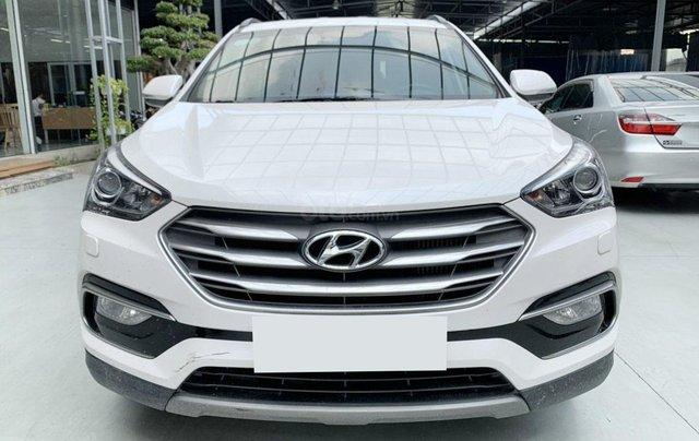 Bán xe Hyundai Santafe AT 2.2 2018 máy dầu biển Sài Gòn0
