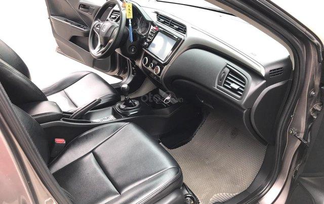 Honda City 1.5MT đời cuối 2016, màu mới Titanium nâu cafe, full kịch đồ, xe 1 chủ, mới lướt5