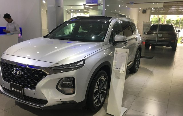 Hyundai Santa Fe 2020 - Giảm 50% TTB - siêu khuyến mãi không thể bỏ lỡ chỉ còn chưa đến 50 ngày0