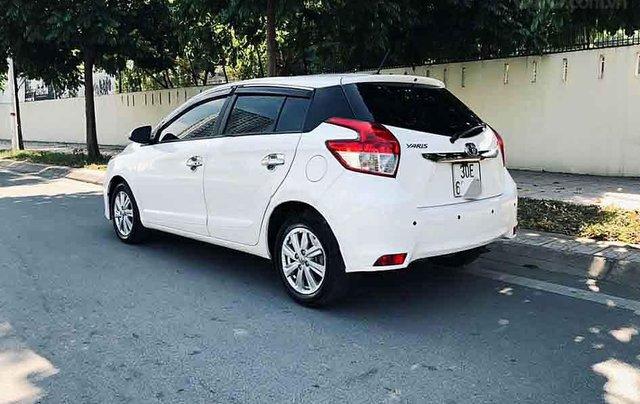 Bán Toyota Yaris 1.5G năm 2016, màu trắng, xe nhập, 545 triệu3
