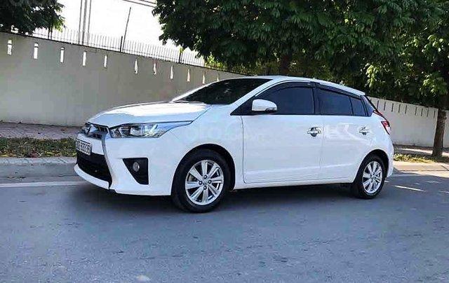 Bán Toyota Yaris 1.5G năm 2016, màu trắng, xe nhập, 545 triệu0