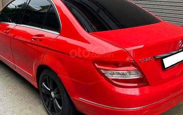 Bán ô tô Mercedes C230 năm sản xuất 2008, màu đỏ, giá cạnh tranh1