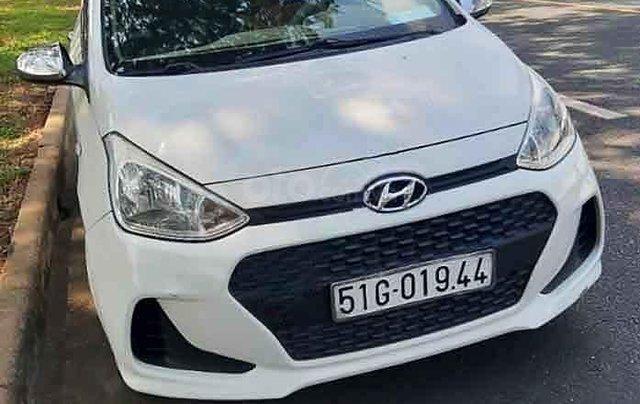 Bán Hyundai Grand i10 năm sản xuất 2017, màu trắng, giá chỉ 250 triệu0