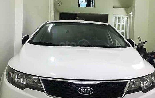 Bán Kia Forte sản xuất 2011, màu trắng, nhập khẩu 0