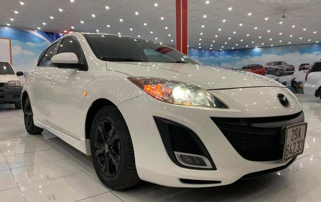 Mazda 3 SX 2009, nhập khẩu Đài Loan, màu trắng0