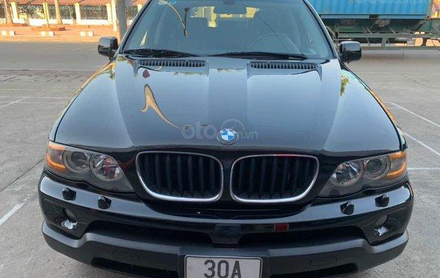 Cần bán xe BMW X5 SX năm 2005, màu đen0