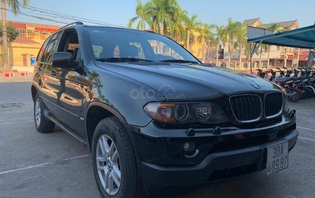 Cần bán xe BMW X5 SX năm 2005, màu đen2