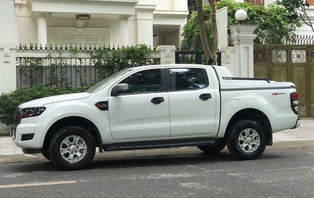 Cần bán xe Ford Ranger đăng ký 2016, màu trắng nhập khẩu nguyên chiếc, giá tốt 475 triệu đồng2