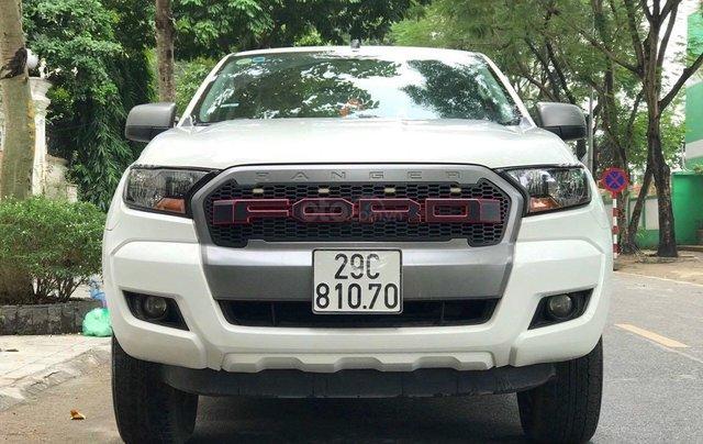 Cần bán xe Ford Ranger đăng ký 2016, màu trắng nhập khẩu nguyên chiếc, giá tốt 475 triệu đồng0