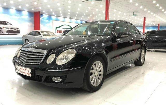 Bán xe Mercedes-Benz E280 SX 2008, màu đen1