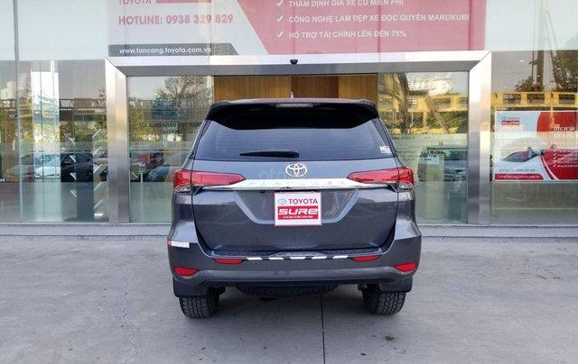 Cần bán xe Toyota Fortuner 2.7V 4x2 AT 2017 màu xám, xe gia đình, HCM - xe cũ chính hãng giá tốt4