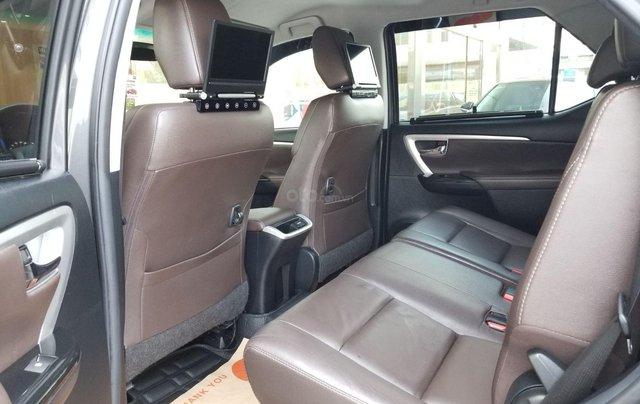 Cần bán xe Toyota Fortuner 2.7V 4x2 AT 2017 màu xám, xe gia đình, HCM - xe cũ chính hãng giá tốt6