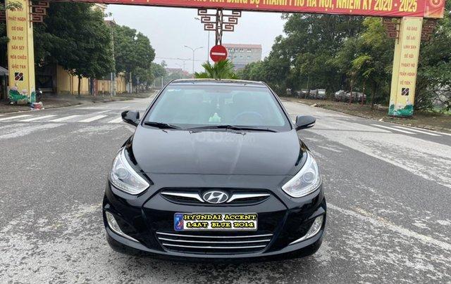 Hyundai Accent 1.4AT Blue cuối 2014, nhập khẩu, tự động, màu đen bản full kịch option. Vào 20 triệu đồ chơi0