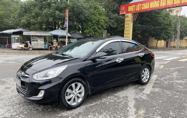 Hyundai Accent 1.4AT Blue cuối 2014, nhập khẩu, tự động, màu đen bản full kịch option. Vào 20 triệu đồ chơi1