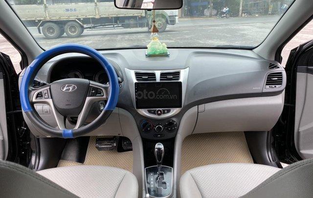 Hyundai Accent 1.4AT Blue cuối 2014, nhập khẩu, tự động, màu đen bản full kịch option. Vào 20 triệu đồ chơi5