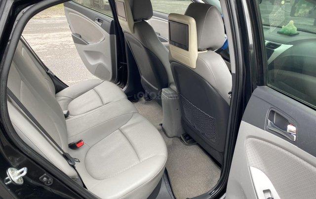 Hyundai Accent 1.4AT Blue cuối 2014, nhập khẩu, tự động, màu đen bản full kịch option. Vào 20 triệu đồ chơi7