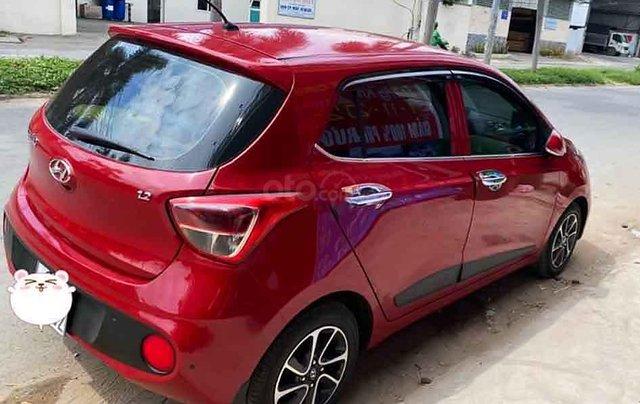 Bán Hyundai Grand i10 1.2 AT đời 2018, màu đỏ chính chủ1