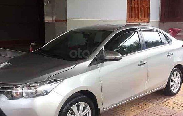 Bán ô tô Toyota Vios sản xuất năm 2018, màu bạc chính chủ0