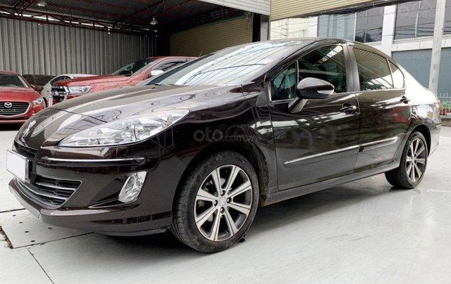 Peugeot 408 đăng ký 2018, sedan, số tự động, biển TP, xe gia đình sử dụng cực đẹp, bao test hãng, có trả góp2