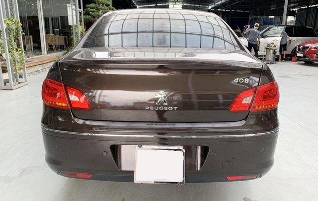 Peugeot 408 đăng ký 2018, sedan, số tự động, biển TP, xe gia đình sử dụng cực đẹp, bao test hãng, có trả góp1