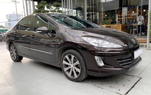 Peugeot 408 đăng ký 2018, sedan, số tự động, biển TP, xe gia đình sử dụng cực đẹp, bao test hãng, có trả góp4