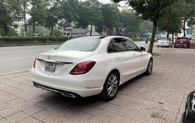 Bán xe Mec C200 sản xuất 2015 màu trắng nội thất đen biển HN đi chuẩn 30.000km bao check hãng toàn quốc4