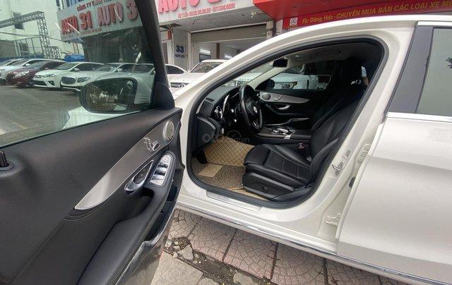 Bán xe Mec C200 sản xuất 2015 màu trắng nội thất đen biển HN đi chuẩn 30.000km bao check hãng toàn quốc7