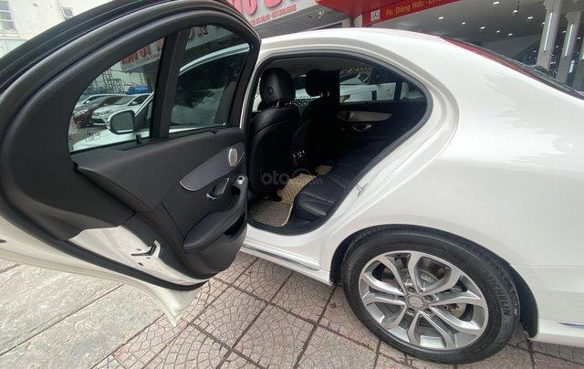 Bán xe Mec C200 sản xuất 2015 màu trắng nội thất đen biển HN đi chuẩn 30.000km bao check hãng toàn quốc8