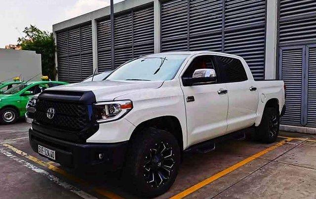 Chính chủ bán Toyota Tundra đời 2014, màu trắng, nhập khẩu 0