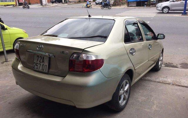 Bán ô tô Toyota Vios 2003, màu vàng chính chủ5