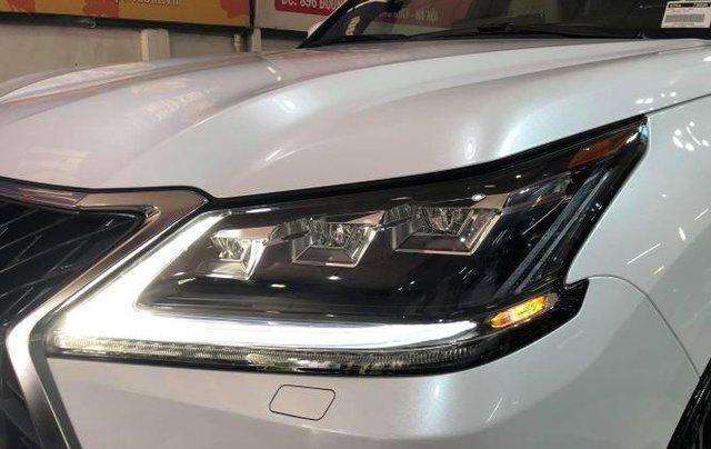Bán Lexus LX 570 V8 2020, màu trắng, nhập khẩu số tự động2