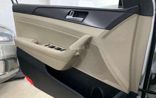 Bán Hyundai Sonata năm sản xuất 2016, màu trắng, nhập khẩu số tự động9
