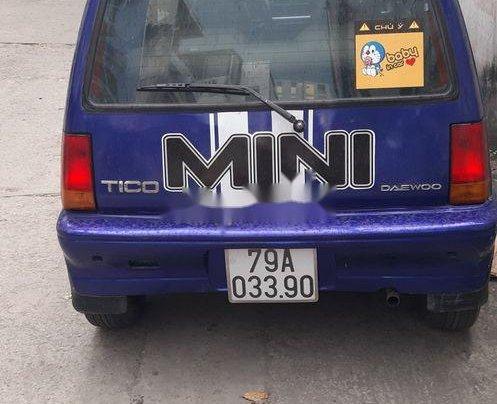 Bán Daewoo Tico sản xuất 1994, màu xanh lam, xe nhập chính chủ, 60 triệu1