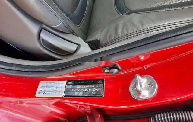 Bán Kia Morning 2015, màu đỏ còn mới, giá chỉ 279 triệu8